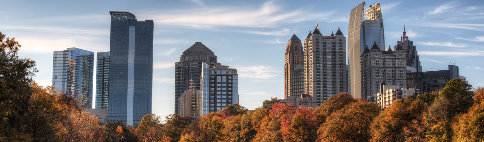 Downtown Atlanta Skyline photo